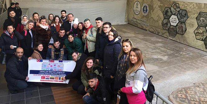 Erasmus Plus Projesi İle Kahramanmaraş'ı Tanıdılar