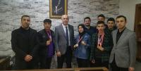 Şampiyon Öğrenciler'den Aydoğan'a Ziyaret