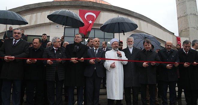 Ali Erbaş KSÜ'de Camii Açılışına Katıldı