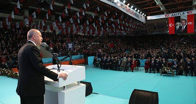 """Erdoğan """"Kahramanmaraş'ı Ziyaret İçin 12 Şubat'ı Özellikle Seçtik"""""""