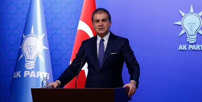 AK Parti Sözcüsü Çelik: Katil rejim bu kalleşliğin hesabını en ağır şekilde verecek