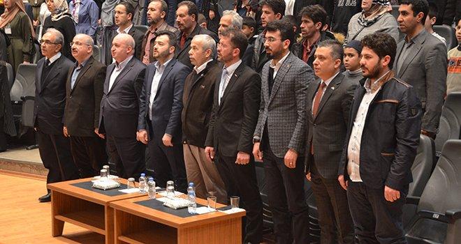 Kahramanmaraş'ta 34 şehide 34 hatim duası okundu