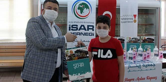 Suriyeli Ailelere Hijyen Kiti dağıtıldı