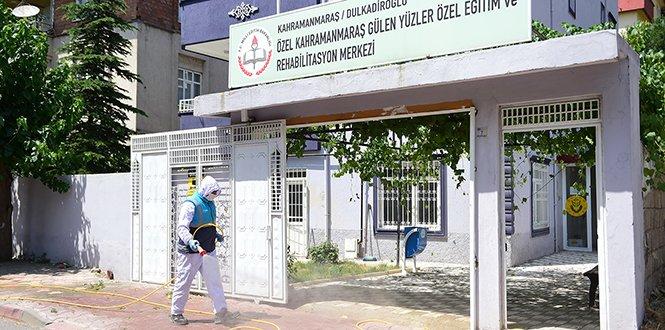 Dulkadiroğlu'nda Dezenfekte Çalışmaları