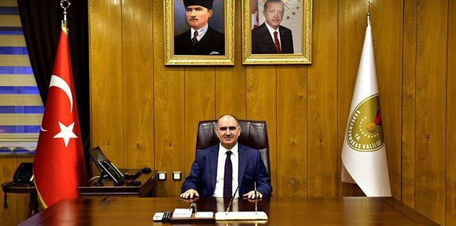Vali Vahdettin Özkan, veda mesajı yayınladı