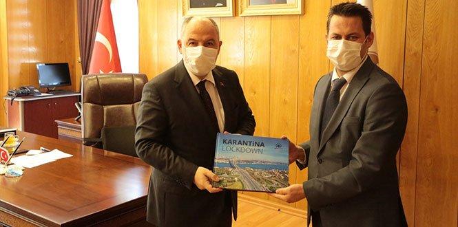 Vali Coşkun, AA Gaziantep Bölge Müdürü Bağrık'ı kabul etti