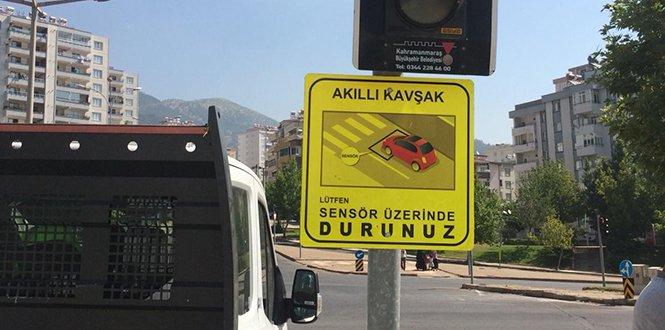 KMBB'den trafik işaret levhaları çalışması