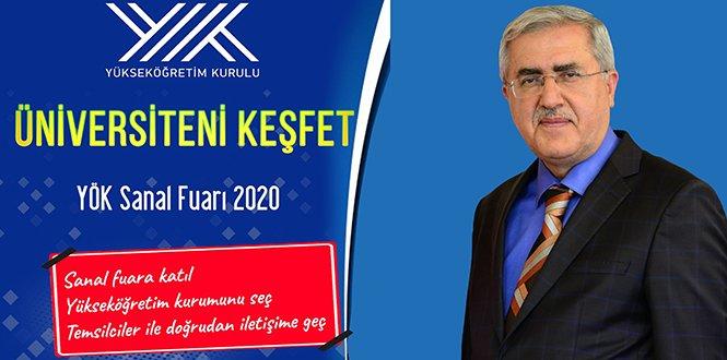 """KSÜ, """"YÖK Sanal Fuarı 2020″de Stant Açtı"""