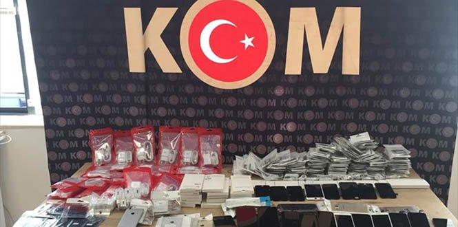 Kahramanmaraş'ta kaçakçılık operasyonu: 8 gözaltı