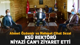 Özdemir ve Sezal'dan Niyazi Can'a ziyaret
