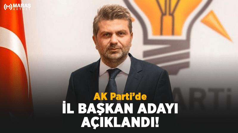 AK Partide İl Başkan adayı açıklandı