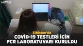 Elbistan'da Kovid-19 testleri için PCR laboratuvarı kuruldu