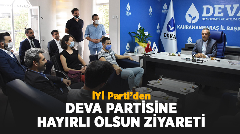 İYİ Parti'den Deva Parti'sine Hayırlı Olsun Ziyareti