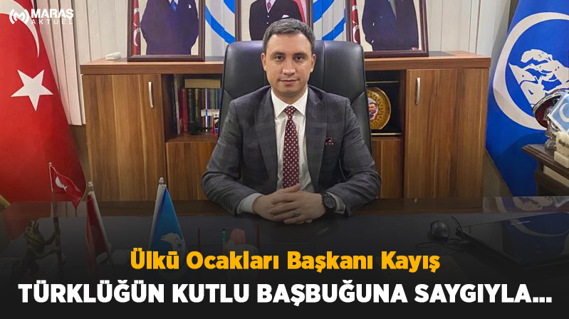 Ülkü Ocakları Başkanı Kayış Türklüğün Kutlu Başbuğuna Saygıyla…