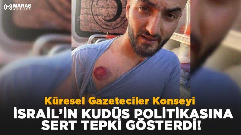 KGK: Kudüs'te gazeteciler hedefte, uluslararası toplum nerede